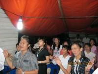KKR di alam terbuka di Tawawu Malasya.Pdt Rolly Rorong malam ke II.