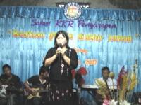 Pdt Rolly Rorong KKR di GBI Karanganyar jawa tengah.Pdm.Debby wungkana.Song leader.