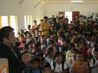 Pdt Rolly Rorong dan anak-anak indonesia di malasya besukacita kunjungan tim safari.Doa kami Tuhan kiranya memberkati.