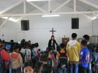 anak-anak mendapat pendidikan  formal dari Pastor Margaret