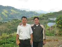 pdt ir Hano palit bersama pdt Tonny manosama di punggung gunung kinabalu