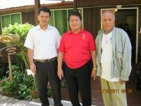 Pdt Rolly Rorong.Pdt Tonny Manosama bersama jemaat GPF di Hotel Sony kaki gunung Kinabalu Malasya.