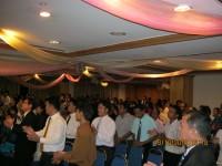 Suasana KKR tim safari di Hotel duta malasya