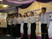 Pdt Rolly Rorong.KKR malam ke 3 Hotel duta Keningau Malasya.