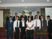 Pdt Rolly Rorong dan pdt Hano Palit.Usai KKR malam I di Hotel Purnama Limbang Malasya