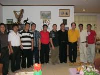Pdt Rolly Rorong.Pdt Hano Palit Pastor Yosep piter Dan tim Berada di Brunai foto bersama dengan seorang pastor dan Kel Yakop.