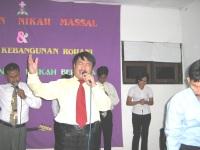 KKR di gereja Betel Tabernakel Wonogiri dgn persekutuan hamba-hamba Tuhan