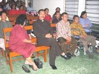 KKR di Gereja utusan pentakosta.nampak Pdt Gidion,ibu Gidion.Pdt Hendrik Manalik.