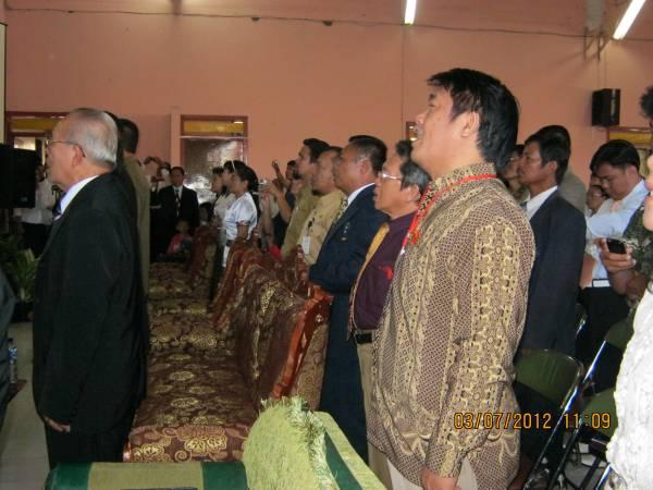 Perkemahan raya dan memperingati 43 tahun adanya pemwahyuan secara langsung thn 1969 di Malino kab Gowa Makasar sulawesi Indonesia.Pd Pdt IH Waworuntu,pdt Tomas ,Pdt J Dakhosta dan tim.2-6 Juli 2012.Namapk Pdt Rolly Rorong dan Pdt WH Katuuk