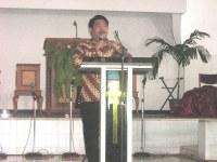 Pdt Rolly Rorong.dalam pelayanan seminar hamba-hamba Tuhan