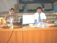 Pdt Rolly Rorong seminar di perkemahan Tompaso manado