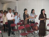 Pdt Rolly Rorong.seminar hamba-hamba Tuhan di jawa tengah
