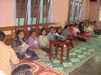 Seminar di Persekutuan pdt-pdt garis depan Kabupaten Nganjuk Ketua Pdt Yohanes.R.