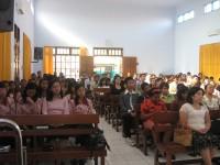 safari indonesia penuh urapan berada di gereja sidang jemaat Allah.Gembala sidang pdt Johanes.