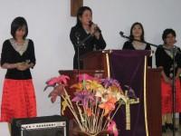 KKR di Gereja kristen maranata indonesia Blitar.pdm.Debby rorong wungkana(song leader)Pdp.Ester Tololiu Surentu.Olivia.Veibe.