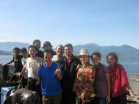 Tim safari usai KKR di Sangir Talaut sulawesi indonesia dgn kapal laut