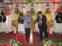 KKR di Manado.Pdt rolly rorong dan pdt W.H.Katuuk