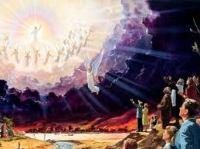kedatangan Tuhan di awan-awan