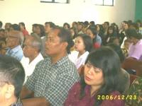 KKR Natal safari di Gereja pantekosta pusat surabaya di Wonogiri,dgn gereja lainnya