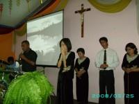 Bpk Kristian song leader,Ester,Veibe,Ibu Kristian dan Marsel potu.di Gesba Surabaya