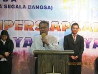 Pdt Max Tampi ketua BPD gesba Jawa Barat