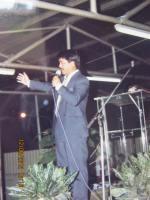 pdt Rolly Rorng KKR di lapangan Rocky Sorong