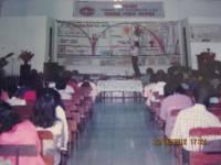 Pdt Rolly Rorong seminar di gereja kalfari Sorong thn 1995
