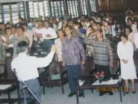 Pdt Rolly Rorong.Seminar di Palangkaraya