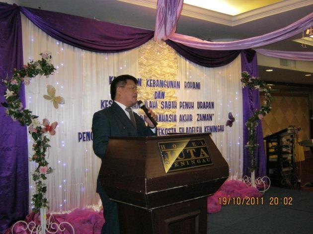 Pdt Rolly Rorong KKR di malaysia di Hotel Juta